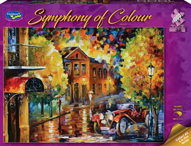 Holdson: 1,000-Piece Puzzle - Symphony of Colour S1 (Jaguar)