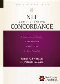 NLT Comprehensive Concordance by James A. Swanson image