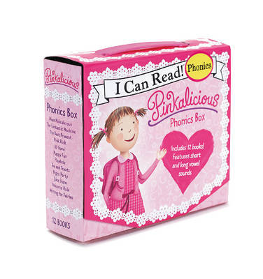 Pinkalicious 12-Book Phonics Fun! by Victoria Kann
