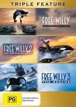 Free Willy / Free Willy 2 / Free Willy 3 - Triple Feature (3 Disc Set) on DVD