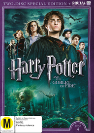 Harry Potter: Year 4 - The Goblet Of Fire (Special Edition) on DVD