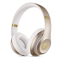 Beats by Dre Studio Wireless Over-Ear Headphones (Gold)
