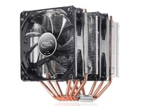 Deepcool Neptwin V2 cooler with 6 heatpipes and Dual PWM LED fan
