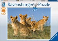 Ravensburger : Lion Babies Puzzle 500pc