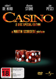 Casino - Special Edition (2 Disc Set) on DVD image