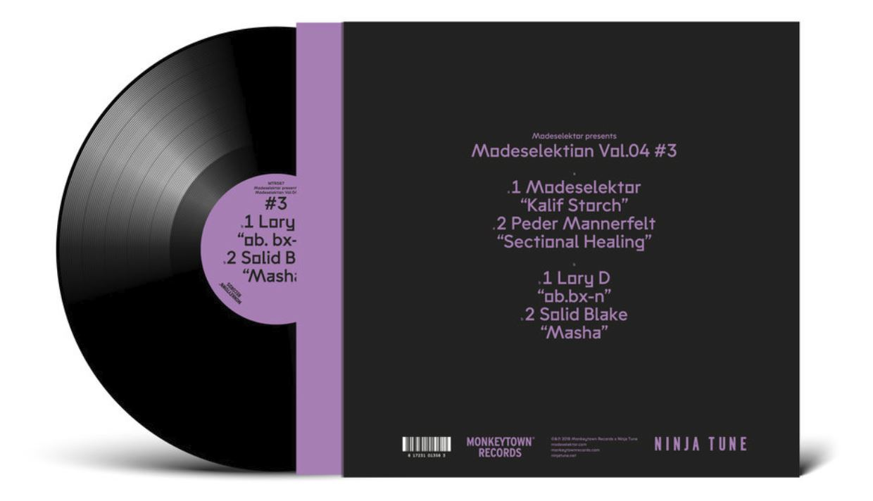 "Modeselektion Vol. 04 - #3 (12""LP) by Modeselektor image"