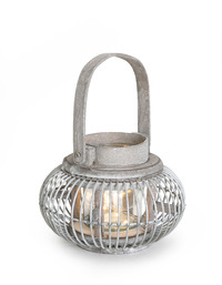 Lantern Led Round Wire W/Handles