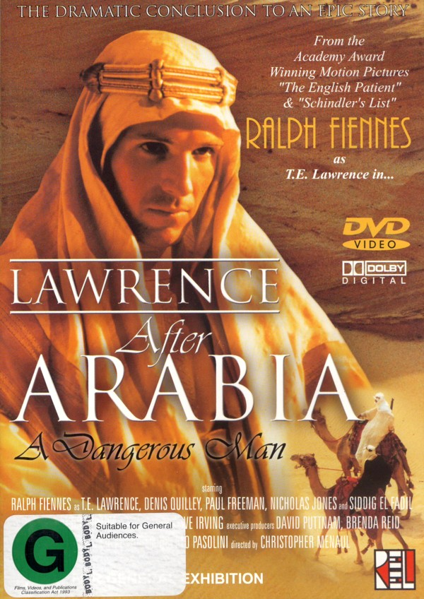 Lawrence After Arabia on DVD image