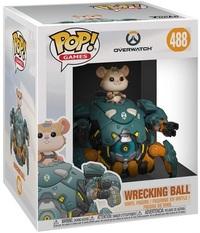 "Overwatch - Wrecking Ball 6"" Pop! Vinyl Figure image"