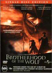 Brotherhood Of The Wolf (Single Disc) on DVD