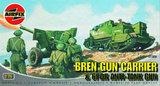 Airfix Bren Gun Carrier & GPDR Anti-Tank Gun 1:76 Model Kit