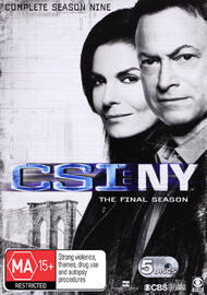 CSI New York Season 9 on DVD