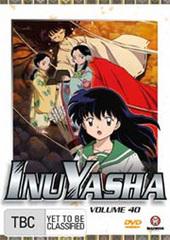 InuYasha - Vol. 40 on DVD