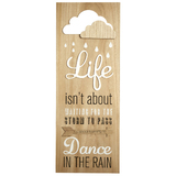 Transomnia: 'Life isn't about..' Sign