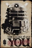 Dr Who Poster - Dalek Wants You (536)