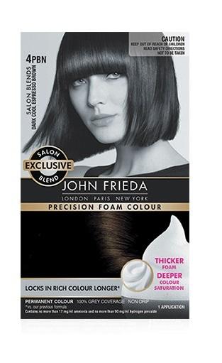 John Frieda Precision Foam Colour - 4PBN (Dark Espresso Brown)
