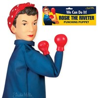 Rosie The Riveter Punching Hand Puppet
