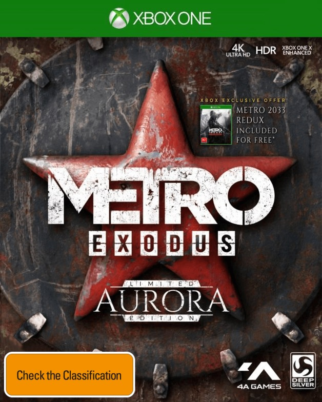 Metro Exodus Aurora Edition for Xbox One