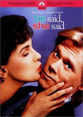 He Said, She Said on DVD
