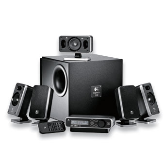 Logitech Z-5400 Digital 5.1 Speaker System