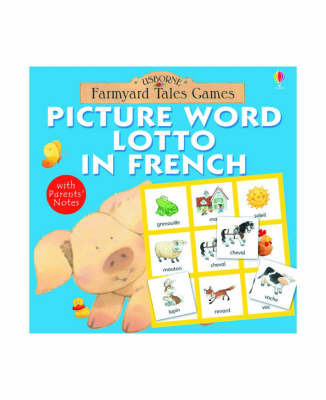 Picture Word Lotto in French