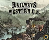 Railways of the World Western US - Board Game image