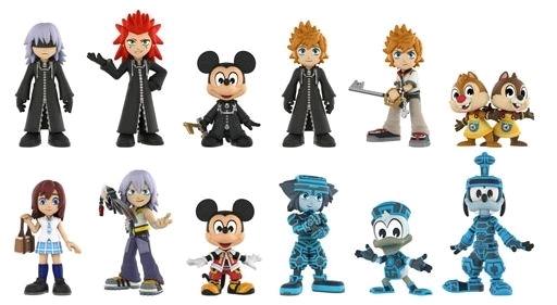 Kingdom Hearts Mystery Minis Tru Us Exclusive Vinyl