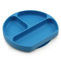 Bumkins: Silicone Grip Dish - Dark Blue