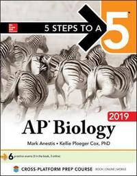 5 Steps to a 5: AP Biology 2019 by Mark Anestis image