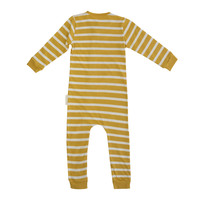 Woolbabe: Merino Organic Cotton PJ Suit - Kowhai (2 Years)