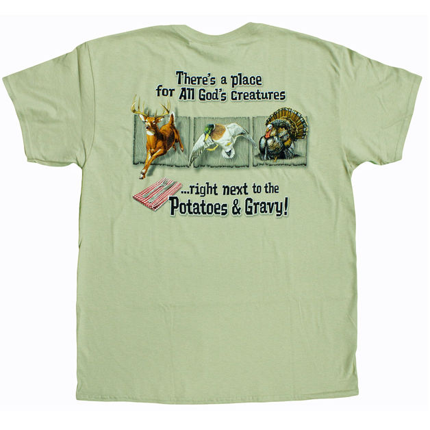 Buck Wear Potatoes & Gravy T-Shirt (Medium)