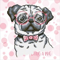 Diamond Dotz: Facet Art Kit - Hug a Pug (Intermediate)