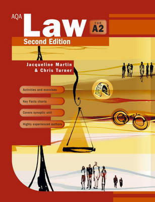 AQA Law for A2 by Jacqueline Martin image