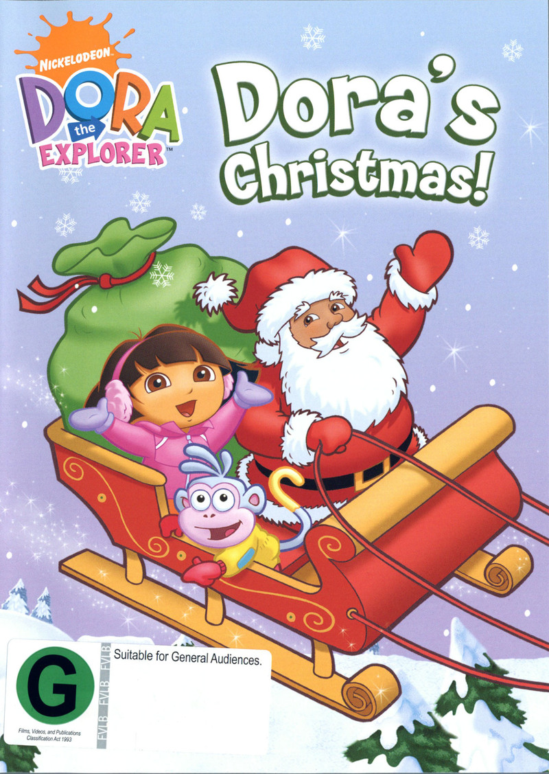 Dora The Explorer - Dora's Christmas on DVD image
