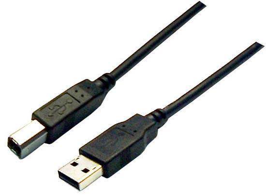 Digitus USB 2.0 Connection Cable Type A/B - 3M
