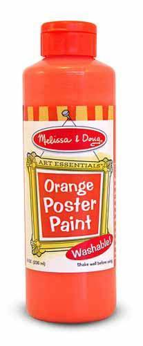 Melissa & Doug - Orange Poster Paint