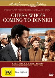 Guess Who's Coming To Dinner - 40th Anniversary Edition on DVD image