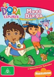 Dora The Explorer - Meet Diego on DVD image