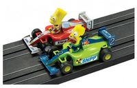 Scalextric The Simpsons Grand Prix 1/64 Slot Cars Set image
