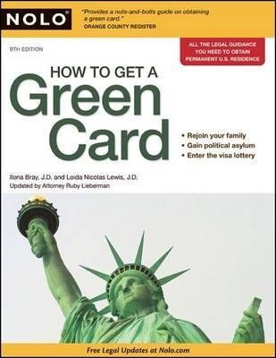 How to Get a Green Card by Attorney Ilona Bray, J.D. image