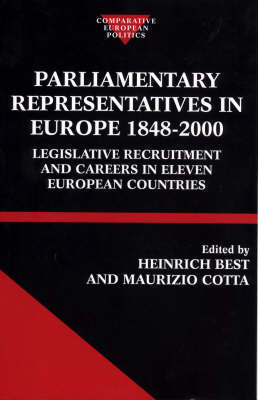 Parliamentary Representatives in Europe 1848-2000 image