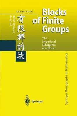 Blocks of Finite Groups by Puig Lluis
