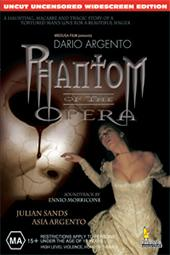 Dario Argento's Phantom of the Opera (1998) on DVD