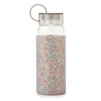 Kate Spade Glass Drink Bottle (Multi Glitter)