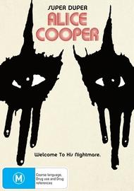 Super Duper Alice Cooper on DVD