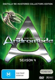Andromeda (Gene Roddenberry's) - Season 4: Digitally Re-Mastered Collector's Edition (6 Disc Set) on DVD