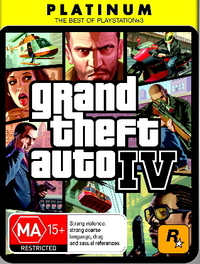 Grand Theft Auto IV (Platinum) for PS3