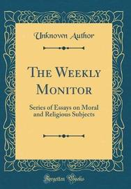 The Weekly Monitor by Unknown Author image