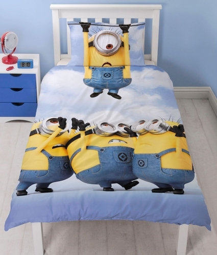 Minions Single Duvet Set