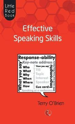 Effective Speaking Skills by Terry O'Brien image